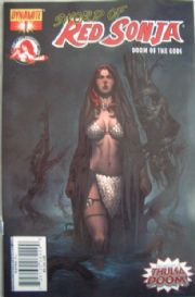 Red Sonja Doom of the Gods #1 Cover C NEW